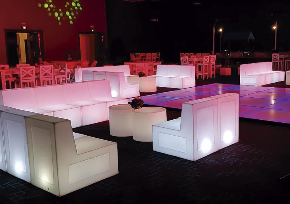 Muebles Lounge en Cancún
