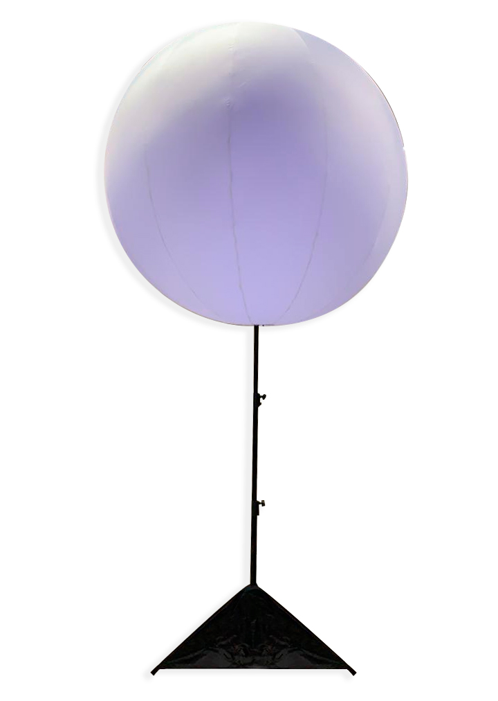 Esfera Inflable con Luz LED